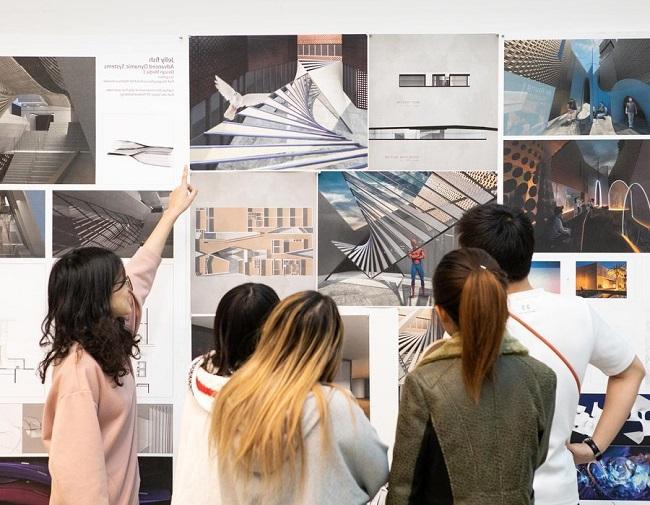 sinh viên thiết kế nội thất