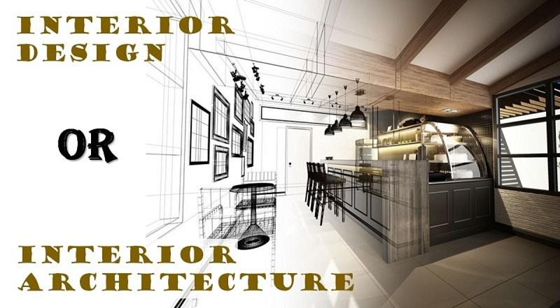 phân biệt kiến trúc và thiết kế nội thất